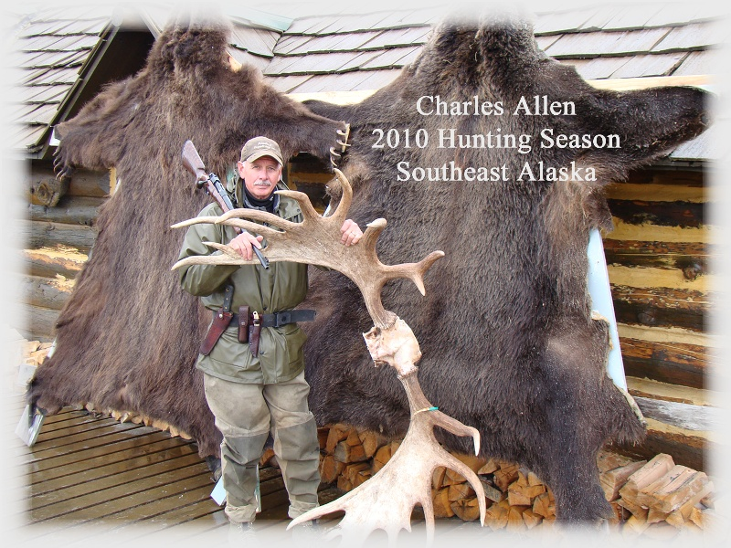 Charles Allen, President, Knives of Alaska, and an Alaskan outfitter, personally field-tests all knives in the rugged Alaska wilderness.